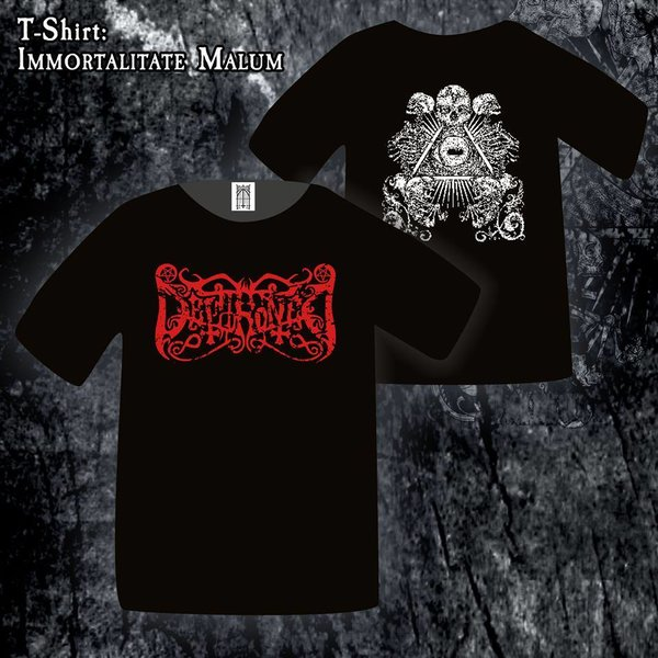 Dethroned - Immortalitate Malum Shirt Grösse M