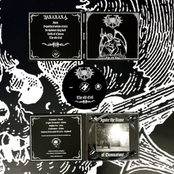 Baxaxaxa  - The old Evil Digipak MCD